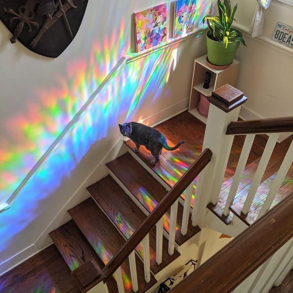 3D Rainbow Effect Window Film