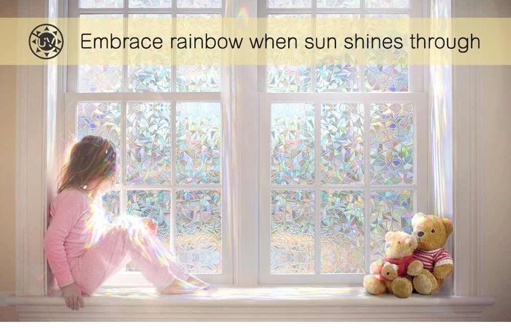 3d Rainbow Window Film