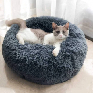 Fluffy Pet Cat Dog Bed Cushion
